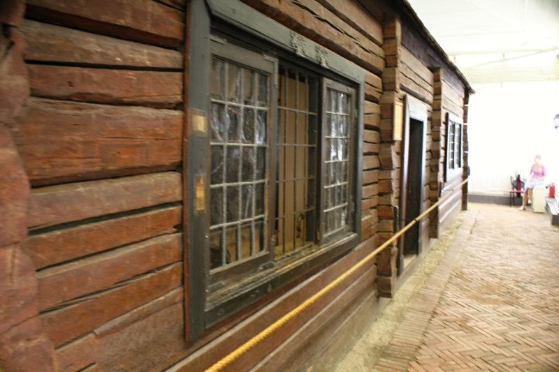 první dům v Petrohradu z kterého Petr I. Veliky řídil výstavu pevnosti